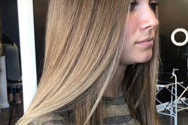 Long Sleek Balayage Hairstyles to Wear on Special Occasions