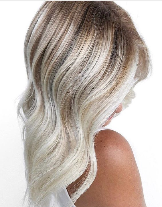 Unique Blonde Hair Highlights with New Look for 2019
