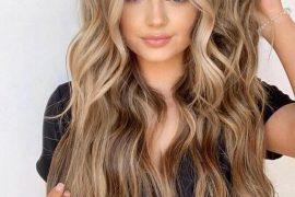 Lovely Balayage Hairstyle & Edgy Highlights for 2019