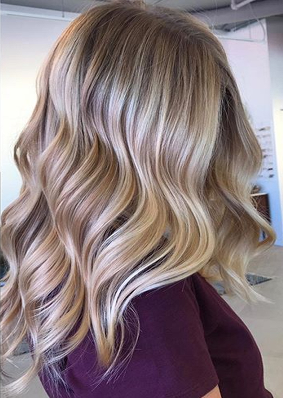 Natural Looking Balayage Hair Colors to Follow in 2019